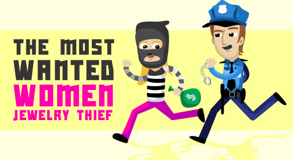 the most wanted women jewelry thief