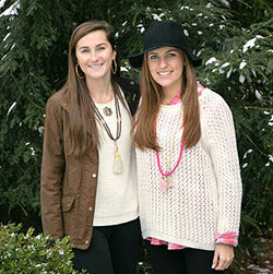 Whitley Henderson and Harris Parker of Boho Beads