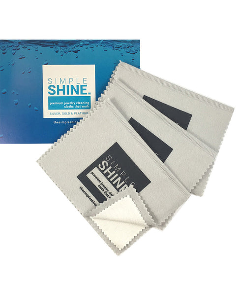 Set of 3 Premium Jewelry Cleaning Cloths