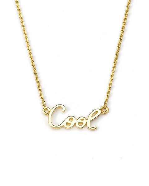 cool nameplate necklace