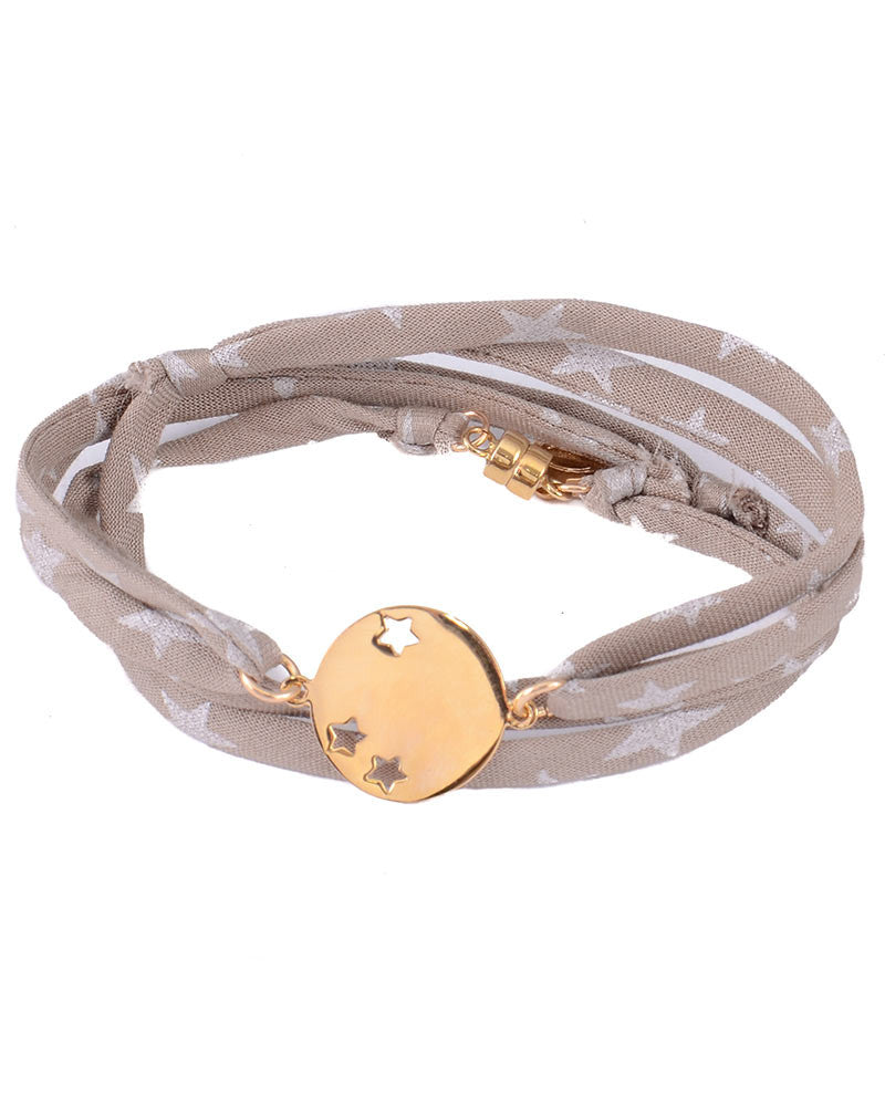 taupe grey brown bracelet dafne designer womens jewelry trending