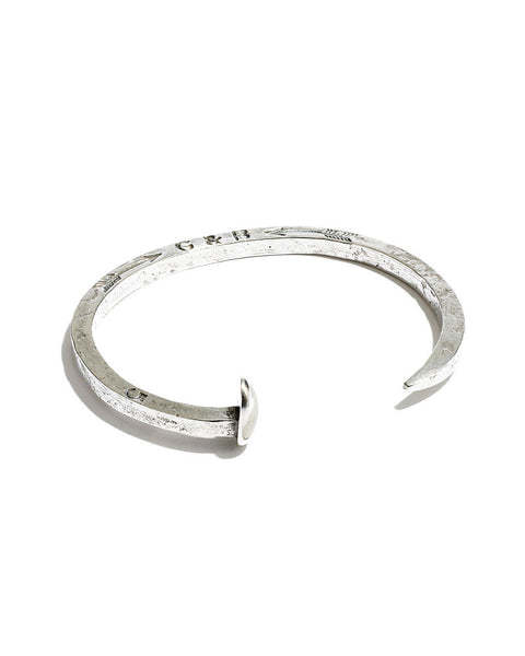giles and brother silver nail bracelet
