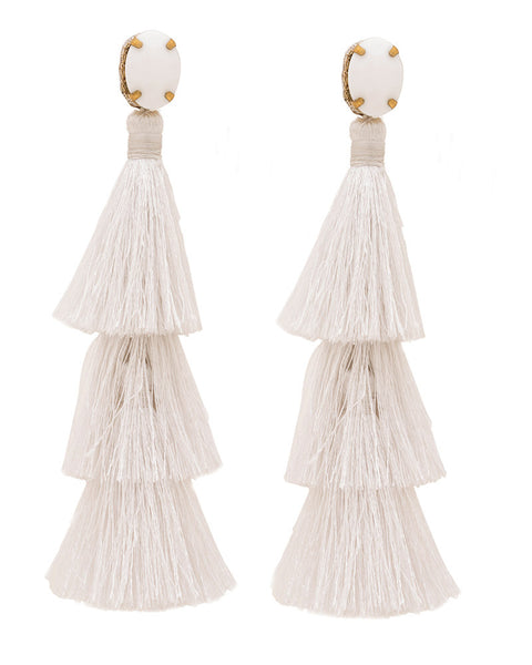 white earrings deepa gurnani designer womens simple trendy chic