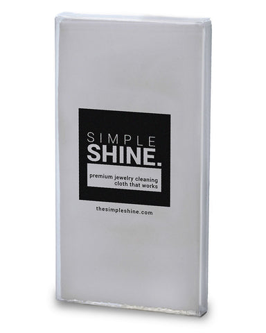Simple Shine Large Premium Jewelry Polishing Cloth