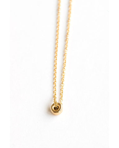 Meridian Avenue Mini Gold Bead Bracelet