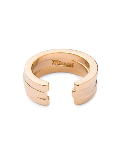miansai gold layered ring