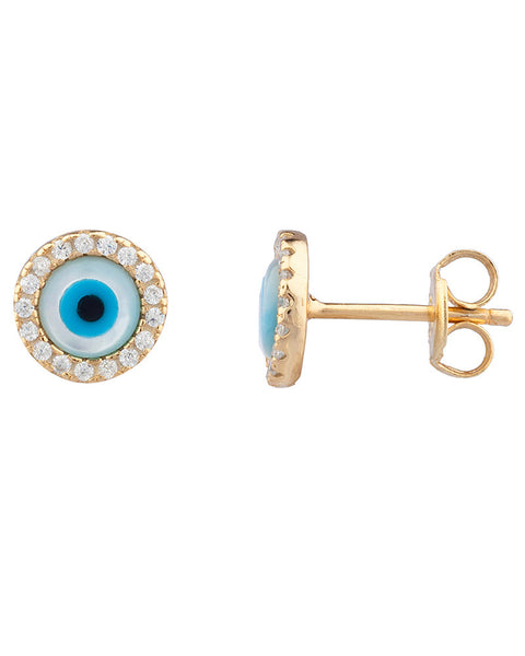 shashi little evil eye earrings