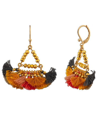 shashi carnival tassel earrings