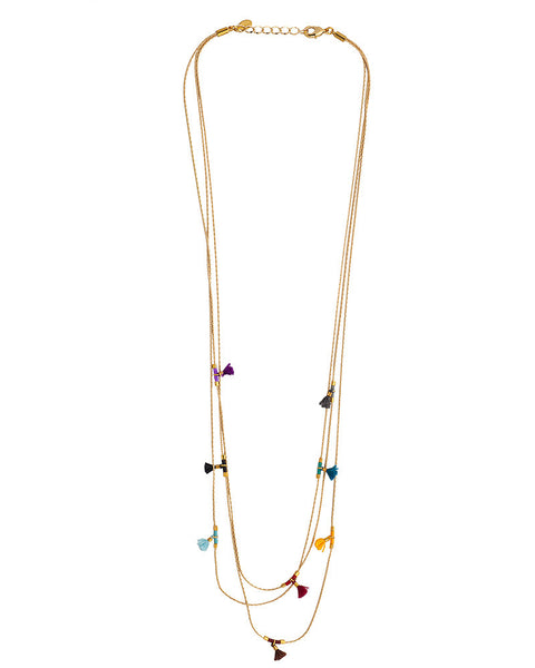Shashi Olivia Gold Necklace