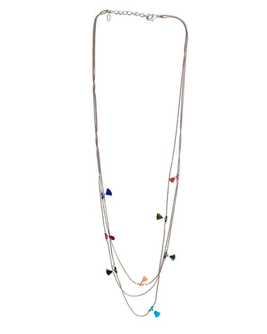 shashi white gold necklace