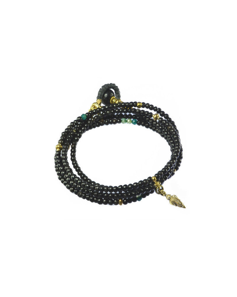 Turchin Elemental Bracelet/ Necklace Ebony Gold