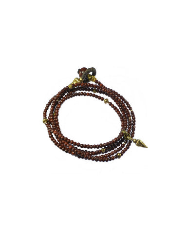 Turchin Elemental Bracelet/ Necklace Rosewood Gold
