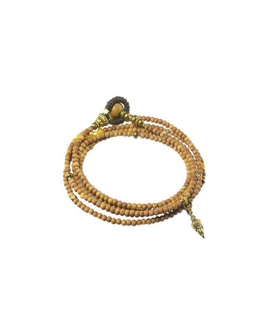 Turchin Elemental Bracelet/ Necklace Sandalwood Gold