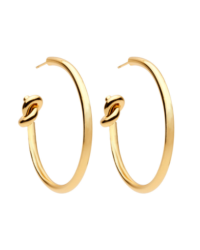 hoop gold curved swirl earrings gold designer womens jewelry amber sceats