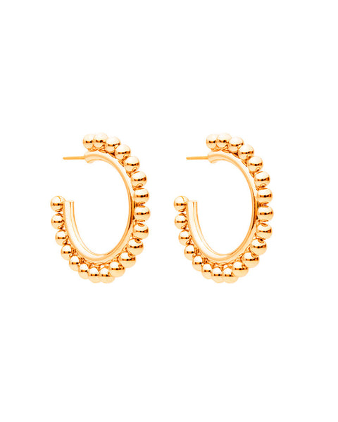 Amber Sceats Gold Dina Earrings