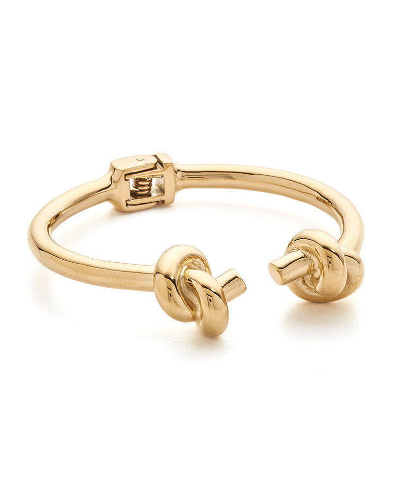 Amber Sceats Gold Knot Me Twice Bracelet