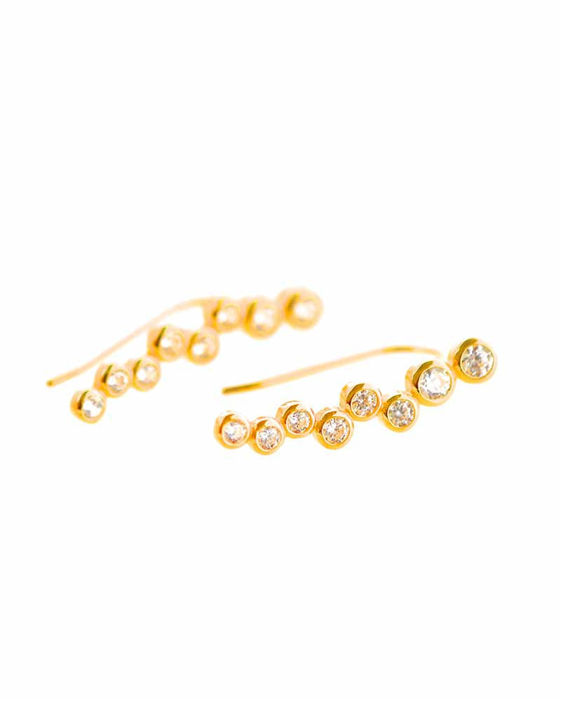 Bardot Gold Ear Climbers