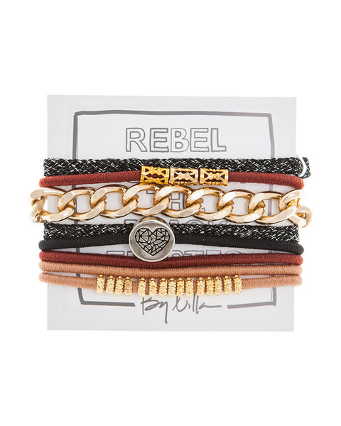 by lilla school of rock hair tie set