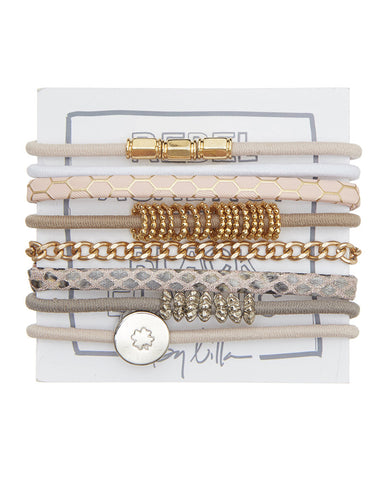 by lilla womens accessory jewelry hair tie bracelets