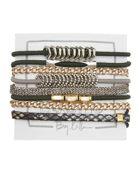 magnolia hair ties elastics stacks pack womens jewelry accessories