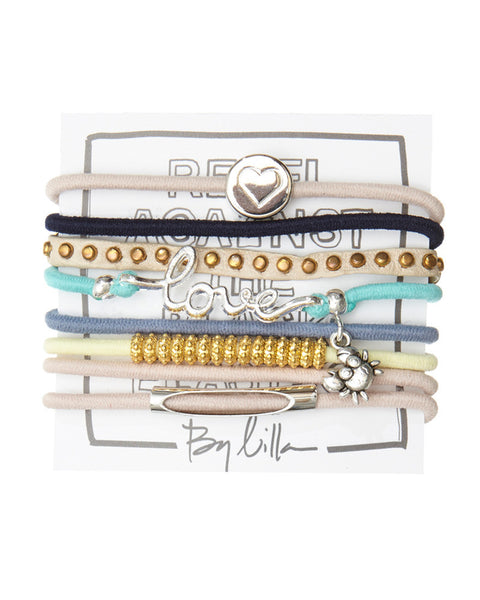 by lilla hair ties bracelet set