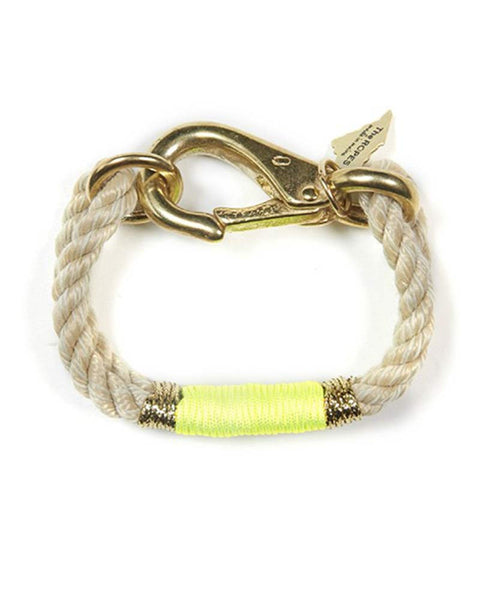 ropes maine neon yellow and gold