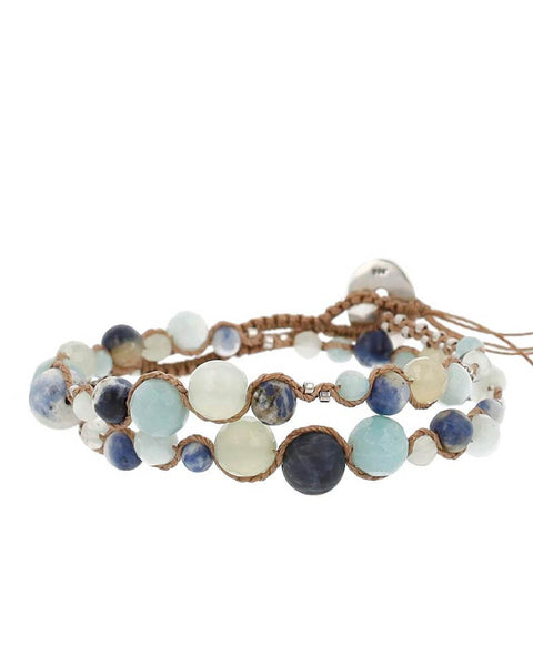 Blue bracelet designer chan luu womens jewelry fashion