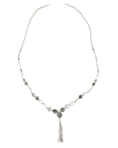 Chan Luu Grey Mix Layering Necklace