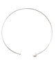 Chan Luu | White Pearl Collar Necklace