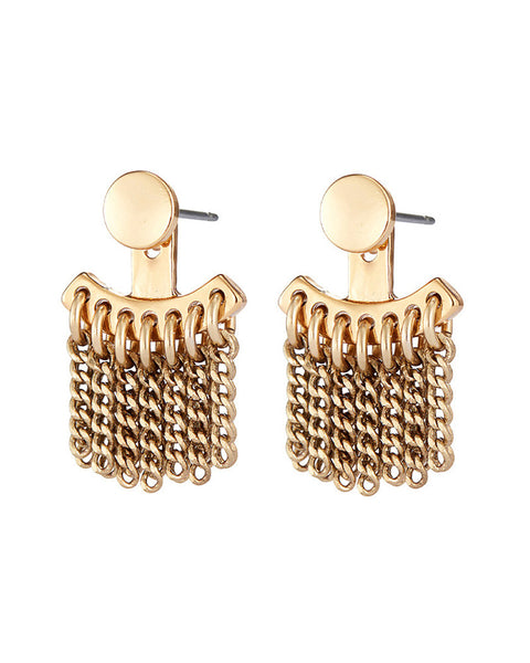 jenny bird gold ear jackets earrings