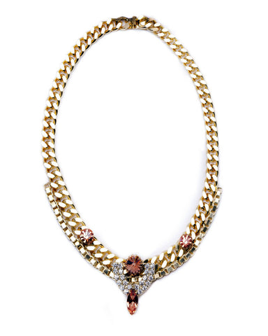 Courtney Lee Collection Chloe Gold Necklace