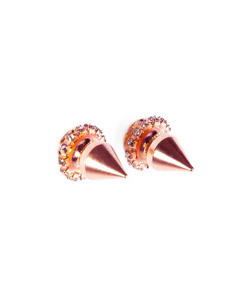 Courtney Lee Earrings Rose Gold Studs