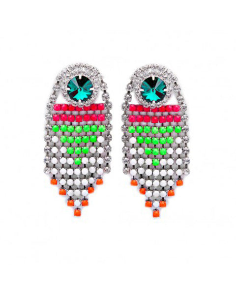 Courtney Lee Collection Luna Neon Earrings
