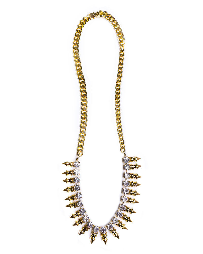 Courtney Lee Collection Frankie Gold Necklace