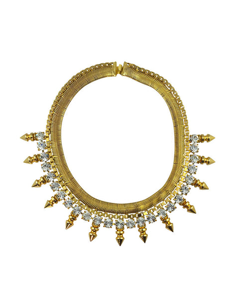 Courtney Lee Collection Gold Bryce Necklace