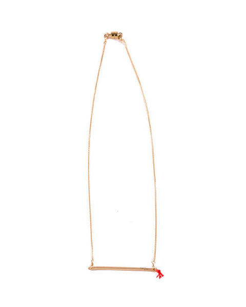 Dafne Lucky Barre Chain Necklace