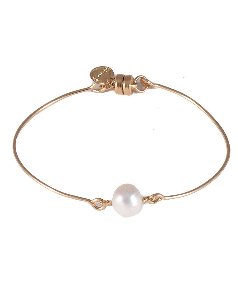 Dafne Pearl Solo Bangle