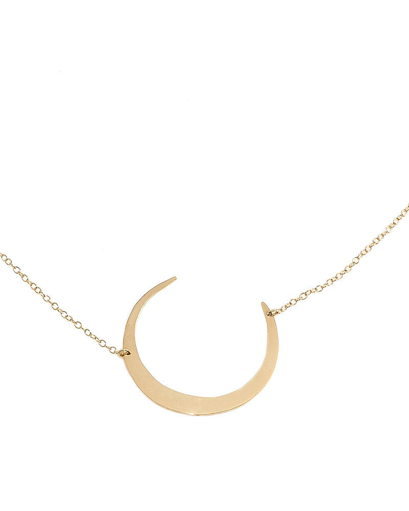 Dafne Eclipse Moon Necklace