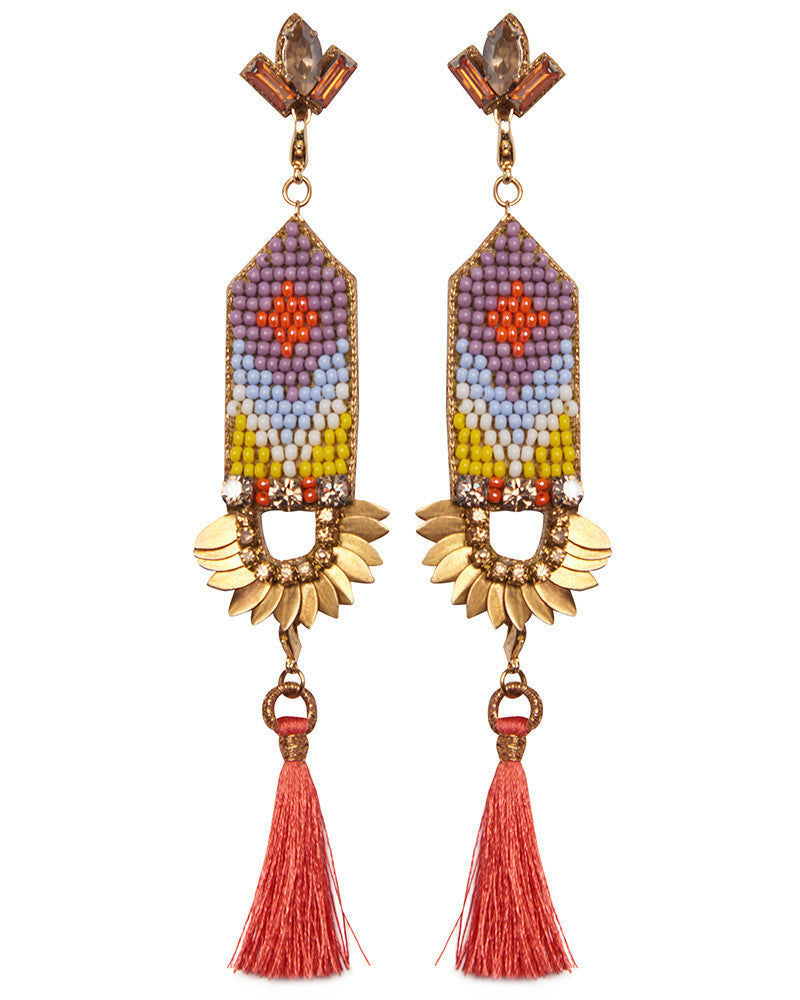 Beautiful nice womens earrings by designer Deepa Gurnani