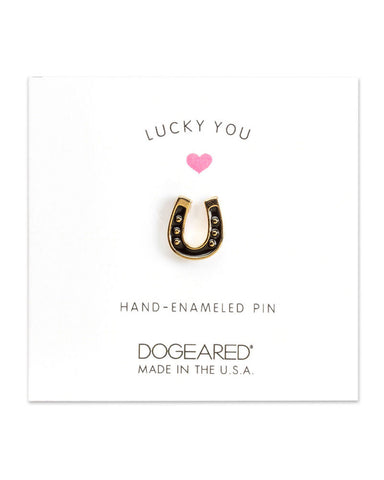 little horseshoe pin tiny