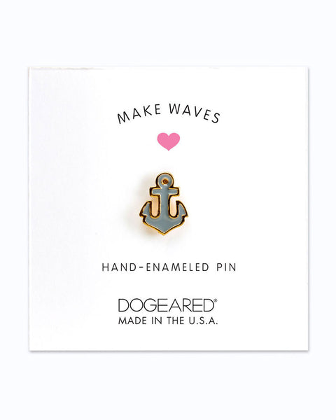 makes waves dogeared anchor pin