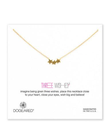 dogeared three wishes necklace