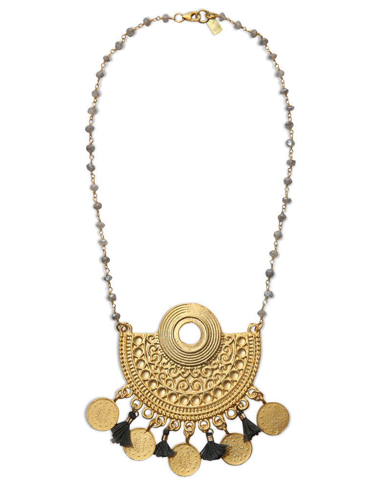 electric picks jewelry duchess necklace gold