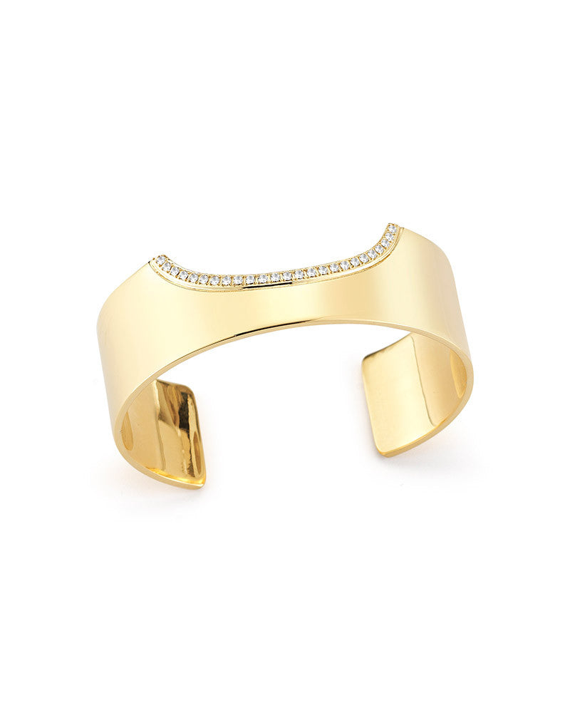 elizabeth and james white kahlo cuff bracelet