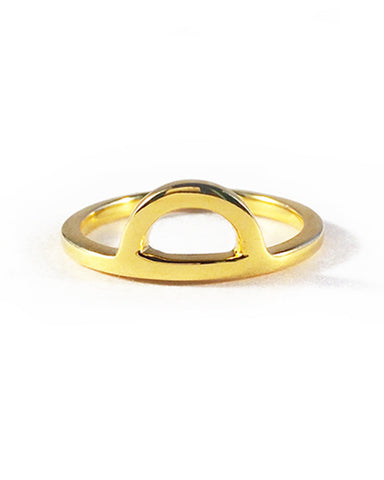 elizabeth stone moon gazer stacking ring