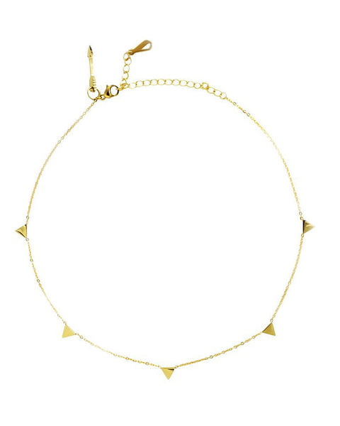 ava choker gold necklace women trending stylish ellie vail