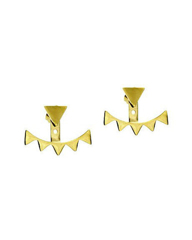 gold earrings for women by designer ellie vail jackets ears
