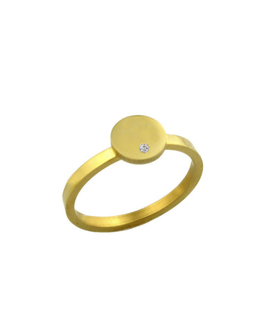 ellie vail gold landon ring