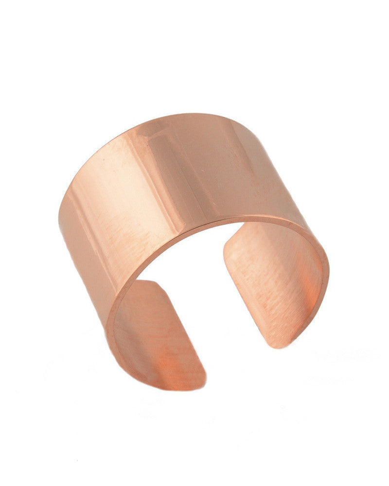 Rose Gold Cigar Ring