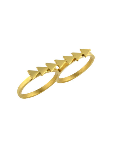 ellie vail simone two finger ring